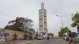 Slim tower is uses as a Mosque