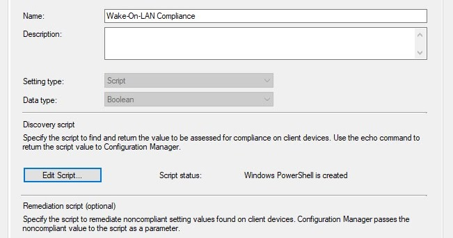 Configuring Wake-On-LAN for Dell Systems ~ Mick's IT Blogs