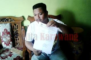 Ketua BPD Desa Lemahmakmur, Akui DD Tahun 2016 Tahap Satu dan Bangub 2016 Masih Terbengkalai