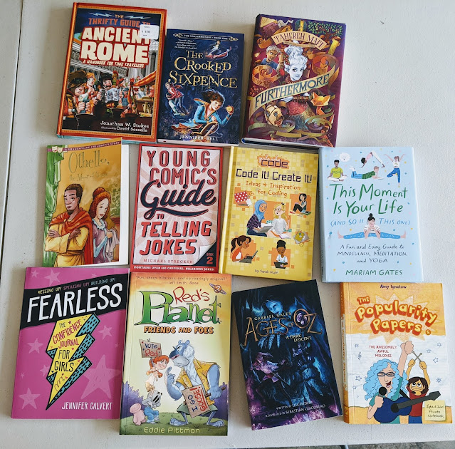 chapter books lots for girls