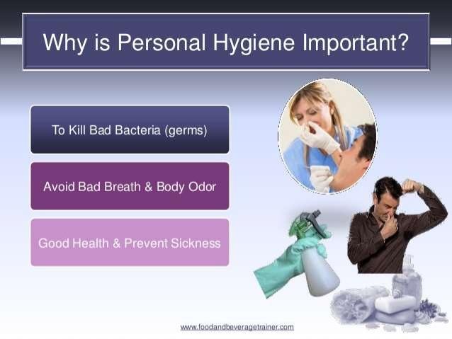 Adult personal hygiene