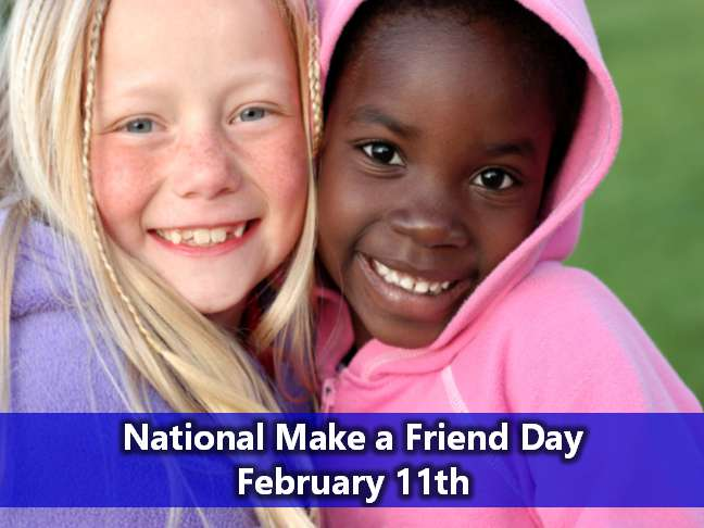 National Make a Friend Day Wishes Unique Image