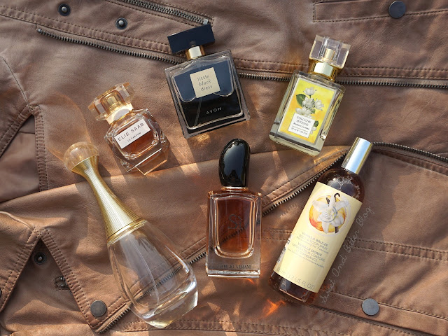 Elie Saab Le Perfum Eau De Parfum Intense, Avon Little Black Dress Eau De Parfum Spray, Forest Essentials Cologne Intense Madurai Jasmine, Dior J'Adore Eau de Parfum, Giorgio Armani Si Eau De Parfum, The Body Shop Vanilla Body Mist,