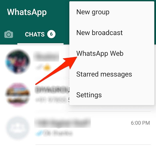 WhatsApp connection Phone