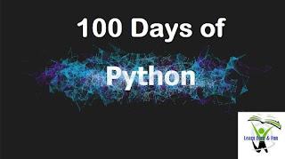 100 Days of Python