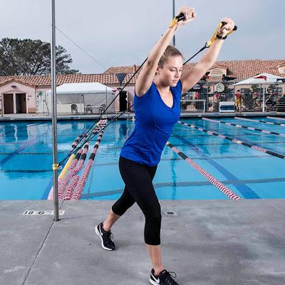 Dây kéo tay trên cạn kháng lực bơi lội NZCORDZ Original Strechcordz With Handles S100