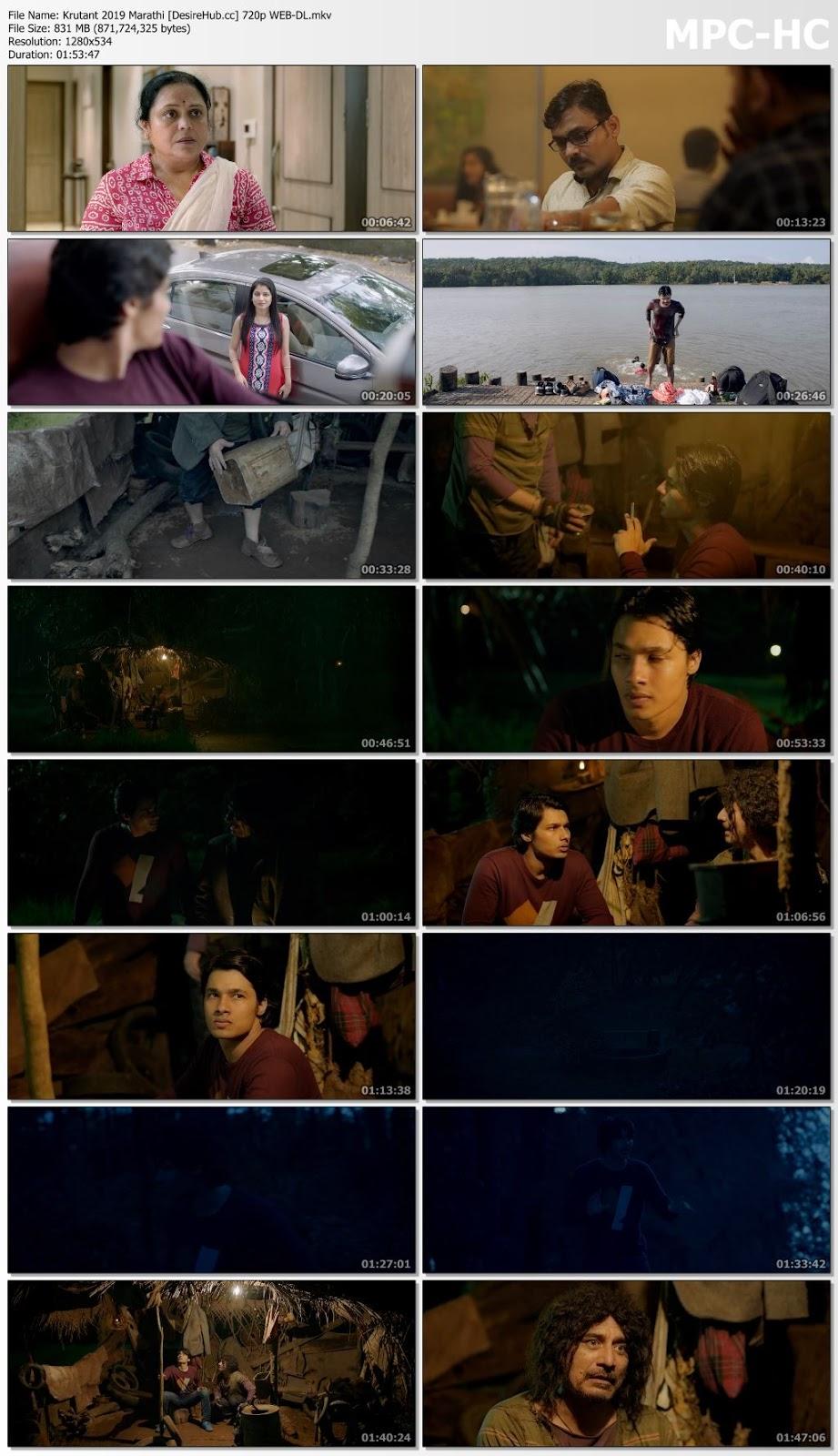 Krutant 2019 Marathi 480p WEB-DL 300mb Desirehub