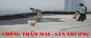 Chống thấm mái sân thượng tại Quảng Ninh