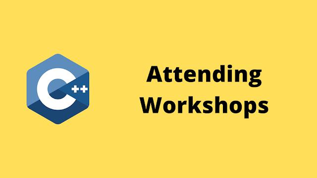 HackerRank Attending workshops solution in c++ programming