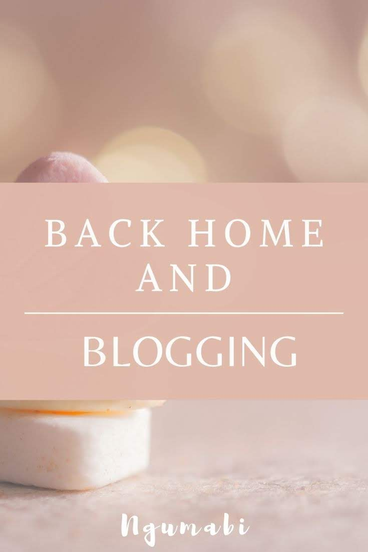 back home and blogging, yaounde bloggers, story