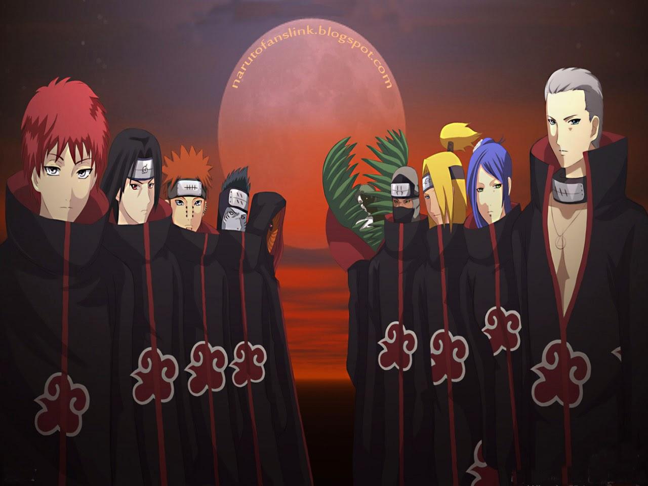Naruto Wallpapers: Akatsuki