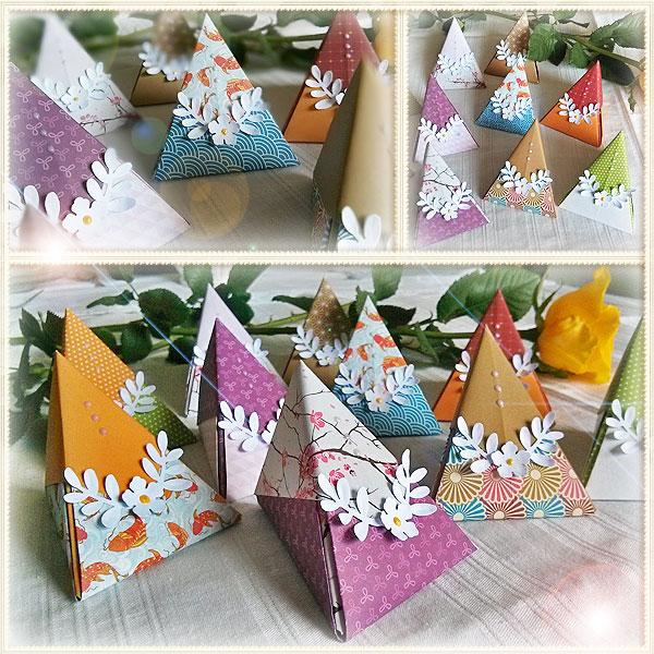 internetfaszination origami pyramide. Black Bedroom Furniture Sets. Home Design Ideas