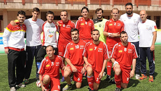 FÚTBOL PARA CIEGOS - España se cuelga el bronce tras ganar en los penaltis a Inglaterra