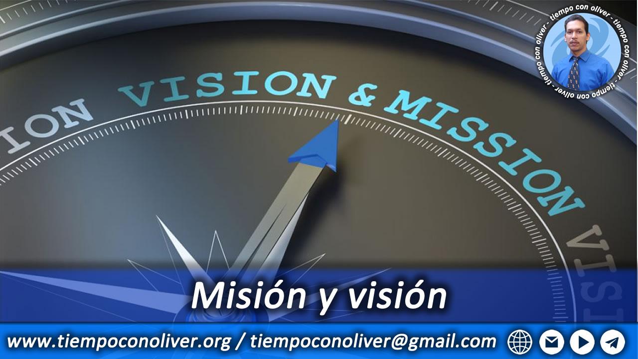 mision y vision de este proyecto