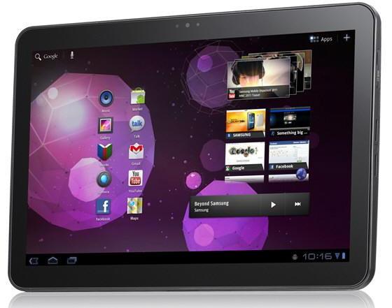 Samsung Galaxy Tab 10.1 Front