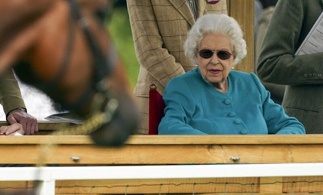 Queen Elizabeth attend the Royal Windsor Horse Show