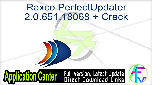 Raxco PerfectUpdater 2.0.651.18068 + Crack