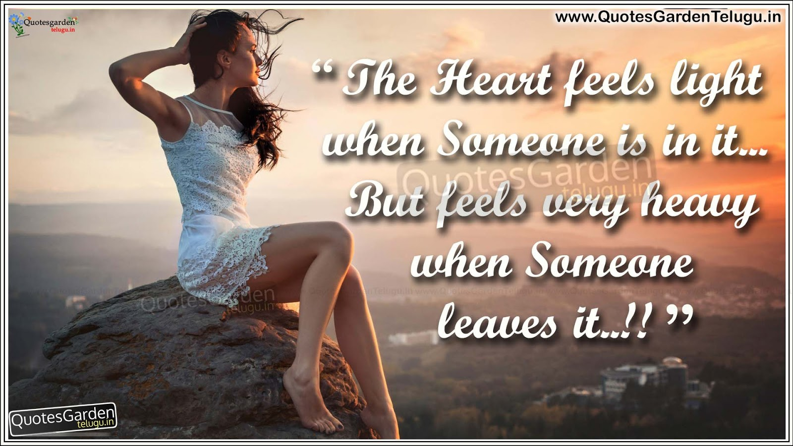 Love Wallpaper With Heart Touching Quotes : Heart touching Love Quotes HD love wallpapers QUOTES GARDEN TELUGU Telugu Quotes English ...