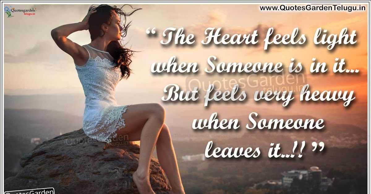 New English Love Wallpaper : Heart touching Love Quotes HD love wallpapers QUOTES GARDEN TELUGU Telugu Quotes English ...