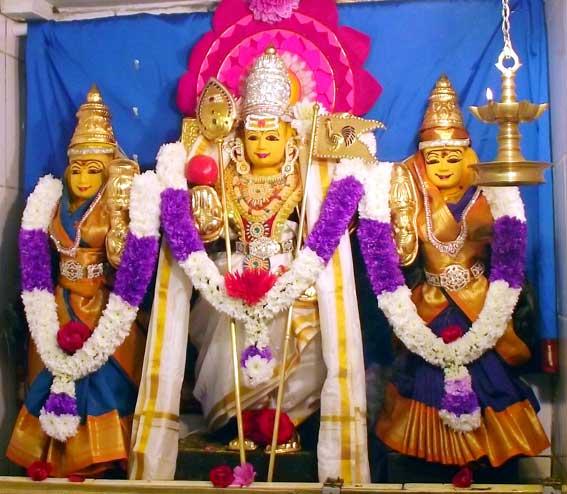 Image result for முருகன் வள்ளி தெய்வானை