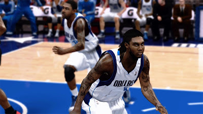 NBA 2K13 Jae Crowder Dreads Hairstyle