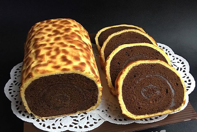 GAMBAR TIGER ROLL CAKE