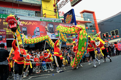 Ilustrasi Budaya Tionghoa dalam menyambut Cap Go Meh..