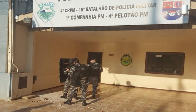 PM e Choque frustram tentativa de fuga na cadeia de Pinhão
