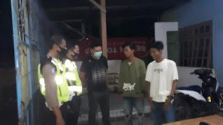 Cegah Covid, Polsek Bungoro Polres Pangkep Laksanakan Operasi Yustisi