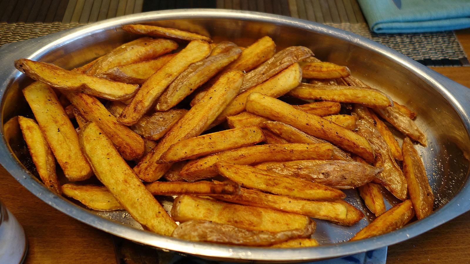 Croque Monsieur A La Poele living the life in saint-aignan: croque et frites