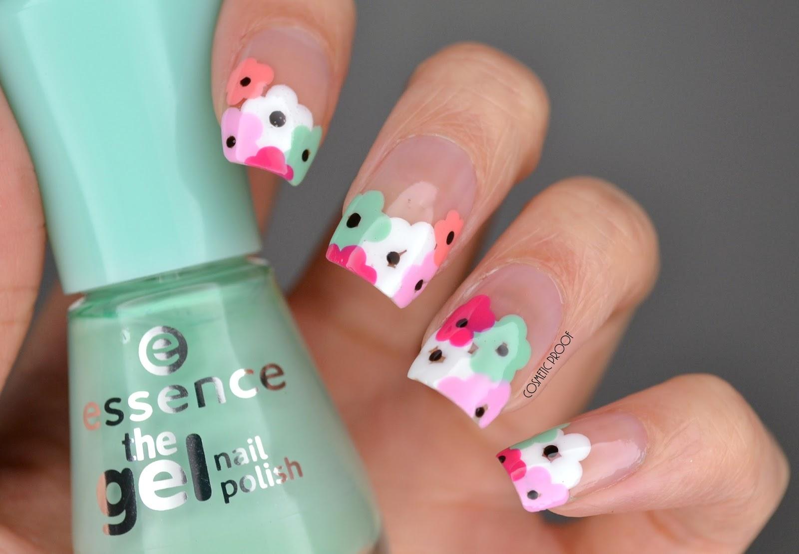Nails negative space flowers manimonday cosmetic proof negative space flower nail art izmirmasajfo