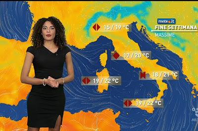 temperature meteo fine settimana Martina Hamdy 7 novembre