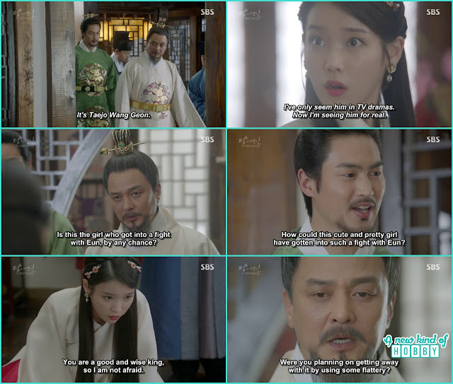 hae soo met with the king Taejo she only saw him in dramas - Moon Lovers: Scarlet Heart Ryeo - Episode 5 Review