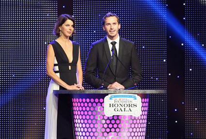 Andy Hoffman #Wins Betty Jane France Humanitarian Award - #NASCAR