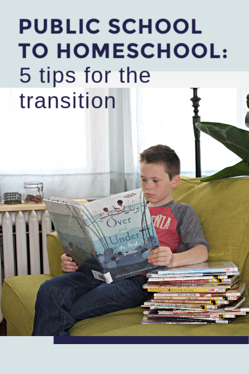 From Public School to Homeschool: 5 Tips for the Transition #homeschool #crisisschooling #schoolhelp