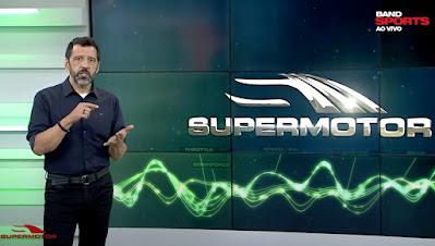 Celso Miranda apresenta o Supermotor (Divulgação/BandSports)