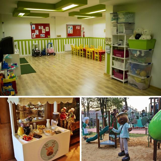 O Hotel Alpestre é famoso pela recreação e pela estrutura para crianças de todas as idades