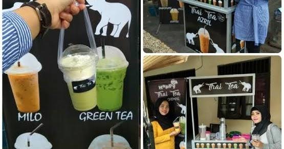 Berapa Modal Usaha Thai Tea Mulai 3 Juta Bisa Profbiaya