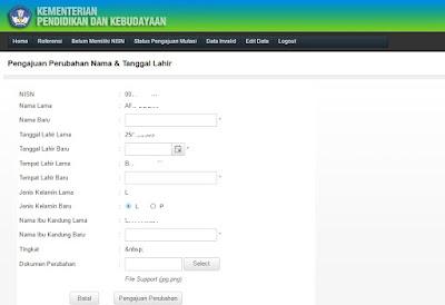 Cara Termudah Edit Nama & Tanggal lahir Siswa Melalui Verval PD