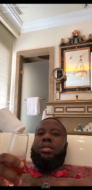 Hushpuppi lavishes millions on luxury items while shopping in Beirut, uses champagne to rinse his feet (Photos)