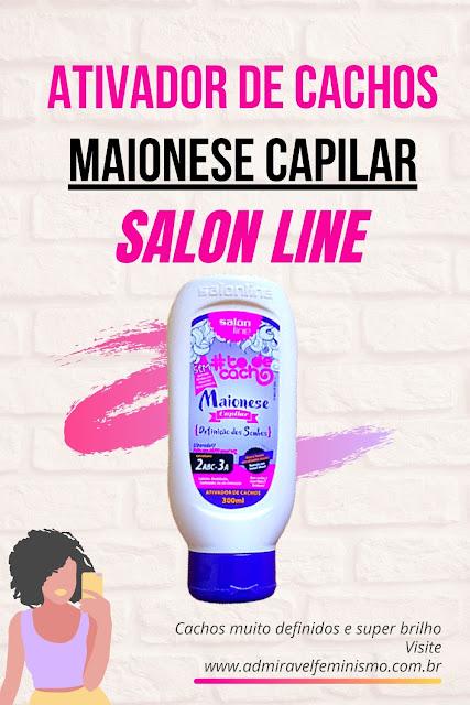 Maionese capilar salon line