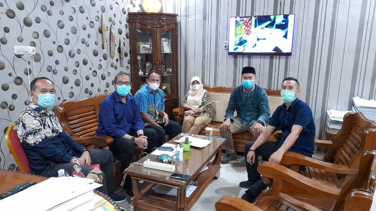KPU Kabupaten Labuhanbatu Menyambut Kunjungan Anggota KPU RI