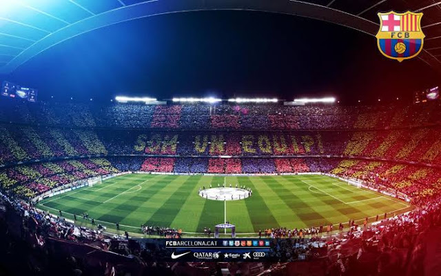 Camp Nou is the home stadium of Barcelona FC since 1937