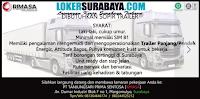 Loker Surabaya di PT. Tanjungsari Prima Sentosa (Rimasa) Oktober 2020