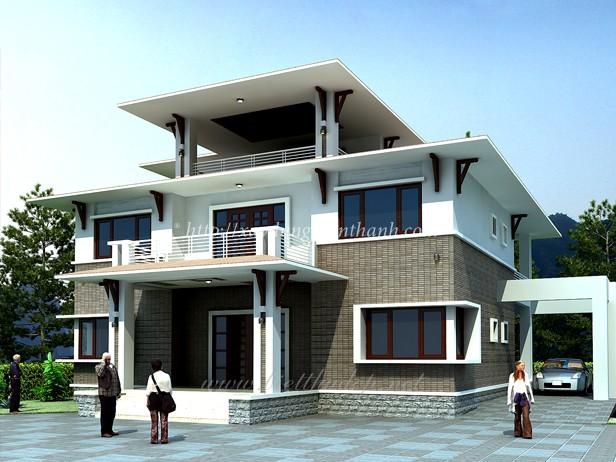 công ty nhận thi công xây dựng nhà biệt thự