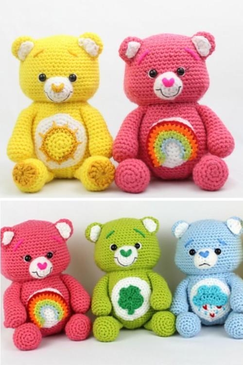 Happy Bears Amigurumi - Free Crochet Patterns