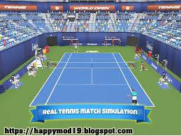 Screenshots of Tennis Clash: 3D Sports MOD APK 1.7.1 + Data Obb For Android