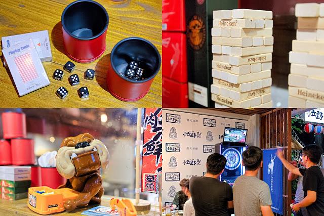 collage222 - 熱血採訪│小立野串燒酒場忠明店,台中最嗨最歡樂的居酒屋,超過百種串燒飲品任你選!