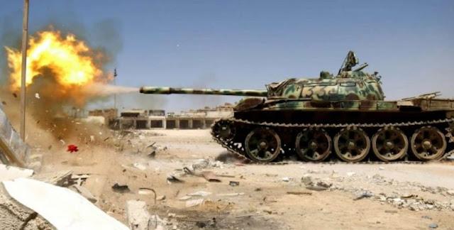 Προελαύνουν προς την Τρίπολη οι δυνάμεις του Χάφταρ