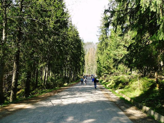 Początkujący w Tatrach